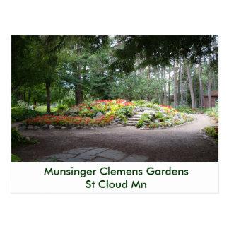 Hardscape Munsinger Garden St Cloud MN Postcard