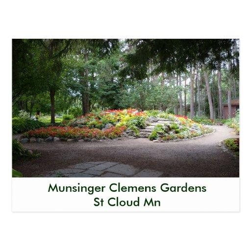Hardscape Munsinger Garden St Cloud Mn Postcard Zazzle