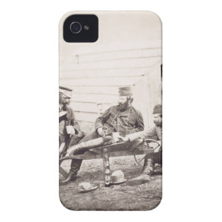 Hardships in the Camp (Colonel Lowe and Captains B Case-Mate iPhone 4 Case