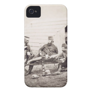 Hardships in the Camp (Colonel Lowe and Captains B iPhone 4 Case-Mate Case