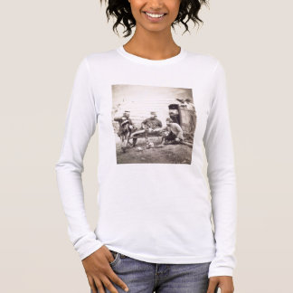 Hardships in the Camp (Colonel Lowe and Captains B Long Sleeve T-Shirt