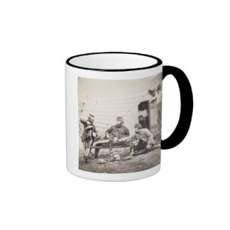 Hardships in the Camp (Colonel Lowe and Captains B Coffee Mugs