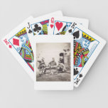 Hardships in the Camp (Colonel Lowe and Captains B Bicycle Playing Cards