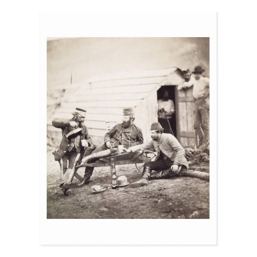 Hardships in the Camp (Colonel Lowe and Captains B Post Cards
