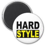 Hardstyle 2 Inch Round Magnet