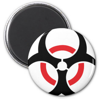 hardstyle black red icon refrigerator magnets