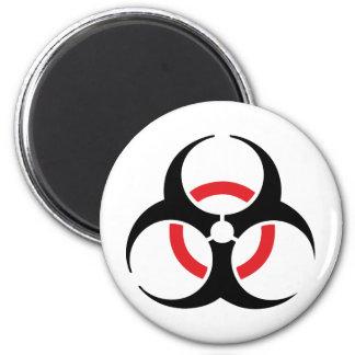 hardstyle black red icon fridge magnets