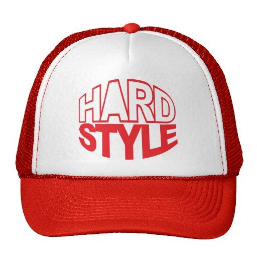 Hardstyle Circle Trucker Hats
