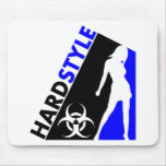 Hardstyle Dancer and Biohazard design Mouse Pads