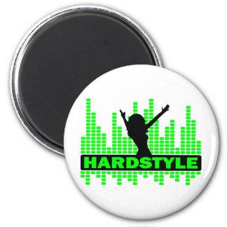 Hardstyle Dancer tempo design Fridge Magnets