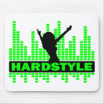Hardstyle Dancer tempo design Mouse Pads