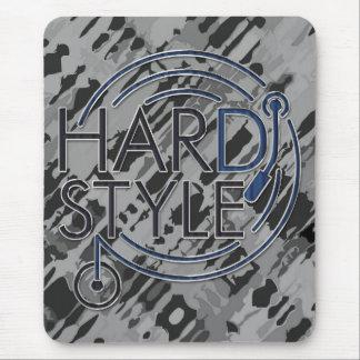 HARDSTYLE DJ - diseño del metal Alfombrillas De Raton