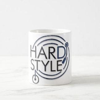HARDSTYLE DJ - diseño del metal Tazas De Café