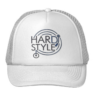 HARDSTYLE DJ - metal design Trucker Hat