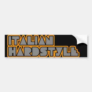 Hardstyle italiano etiqueta de parachoque