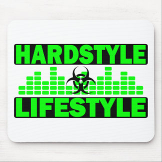 Hardstyle Lifestyle hazzard and tempo design Mouse Pad
