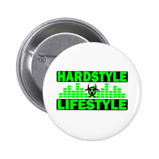 Hardstyle Lifestyle hazzard and tempo design Pin