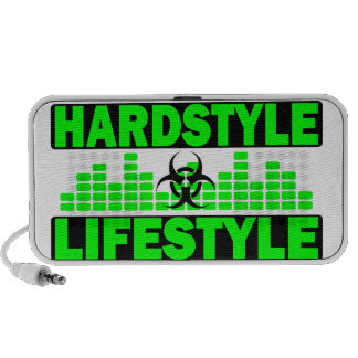 Hardstyle Lifestyle hazzard and tempo design Travelling Speaker