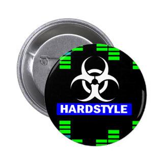 Hardstyle pattern button