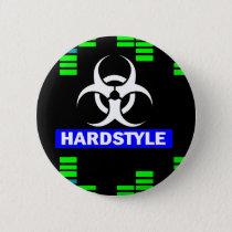 Hardstyle pattern pinback button