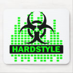 Hardstyle Tempo design Mouse Pad