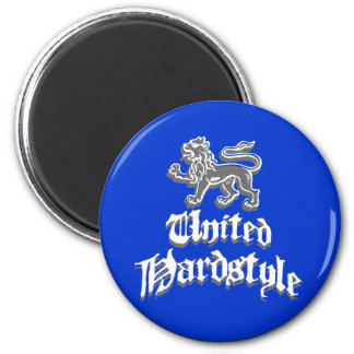 Hardstyle unido imán redondo 5 cm