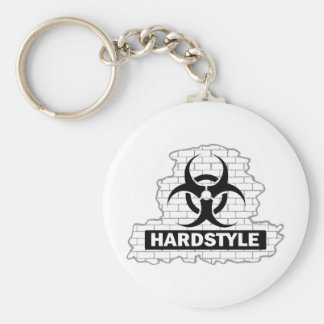Hardstyle Wall Smash Design Keychain
