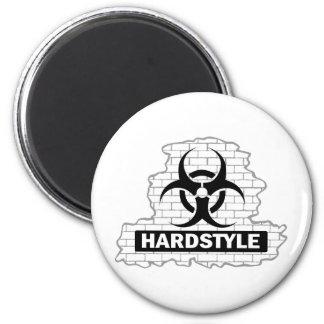Hardstyle Wall Smash Design Refrigerator Magnet