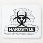 Hardstyle Wall Smash Design Mouse Pads