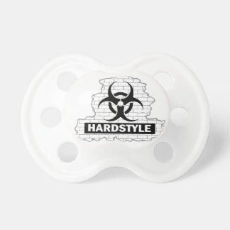 Hardstyle Wall Smash Design Pacifier