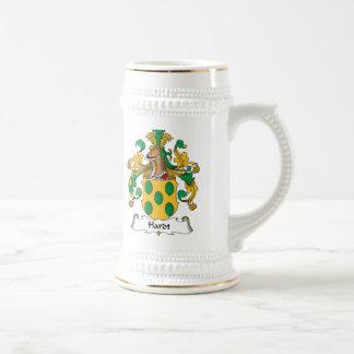 Hardt Family Crest 18 Oz Beer Stein