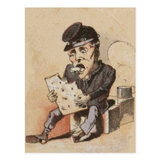 Hardtack Civil War Life Postcard