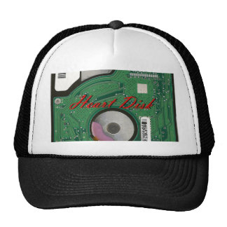 Hardware Computer Accessories Heart Disk Style Hats