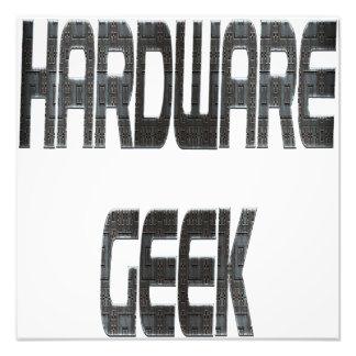 Hardware Geek Metal Photo Print