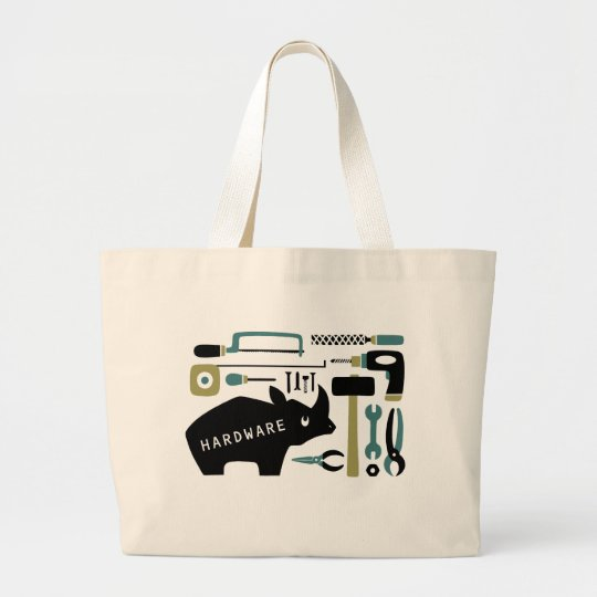 Hardware&Rhino Large Tote Bag