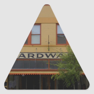 Hardware Triangle Sticker