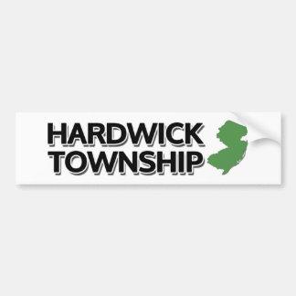Hardwick Township, New Jersey Bumper Sticker