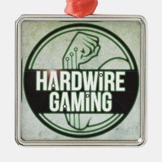 Hardwire Gaming Premium Christmas Ornament Square