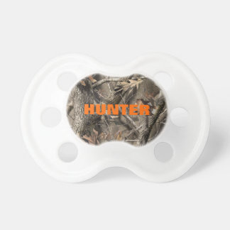 Hardwood Camo Hunter Baby Pacifier