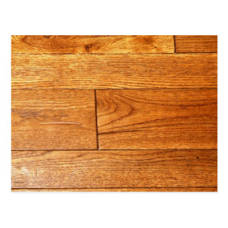 Hardwood floor postcard