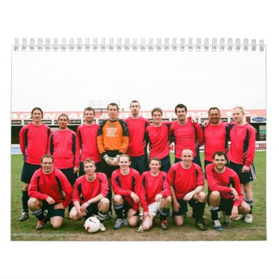 Hardy Athletic 2008 Calender Wall Calendar