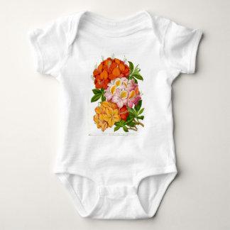 """Hardy Azaleas"" by Sir Joseph Paxton Baby Bodysuit"