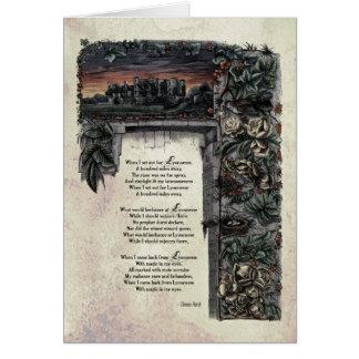 "Hardy ""Lyonnesse"" Victorian Art Card"