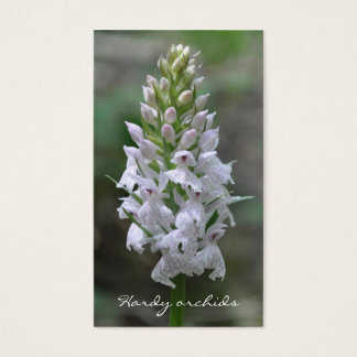 Hardy orchids business card