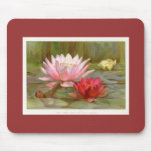 Hardy Water Lilies Mouse Pads