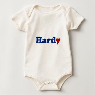 Hardy with Heart Baby Bodysuit