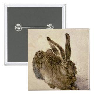 Hare, 1502 pinback button