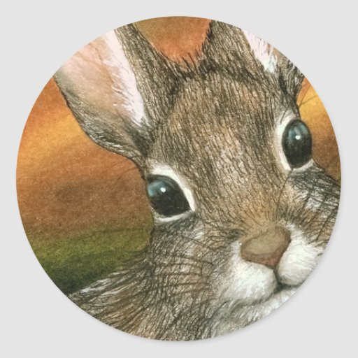 hare 15 Sticker