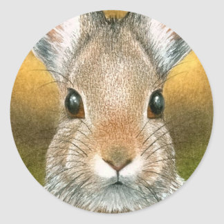 hare 18 Sticker