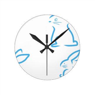 Hare #2 round clock